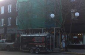 Restauration immeuble commerciale (rejointoiment)
