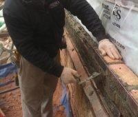 Maçon - Rejointoiement de brique à Montréal