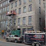 Restauration immeuble commerciale