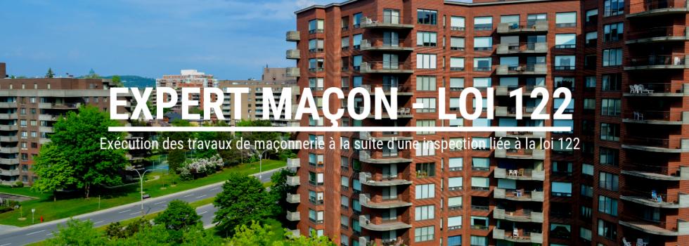Expert maçon dans la région de Montréal